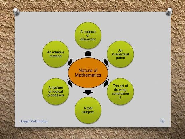 nature of mathematics education