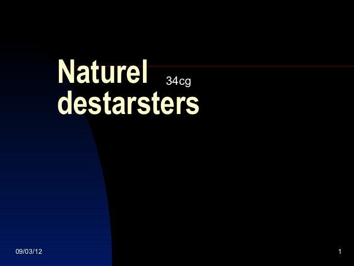 Naturel 34cg           destarsters09/03/12                  1