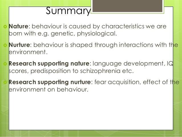 nature vs nurture language acquisition ppt