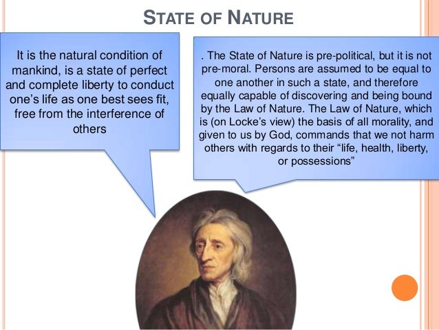 state of nature example