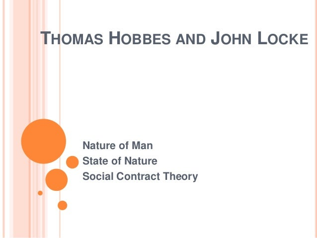 Hobbes and locke social contract