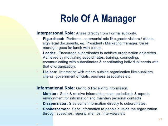 Nature of organization management - Role of office manager in an organization ...