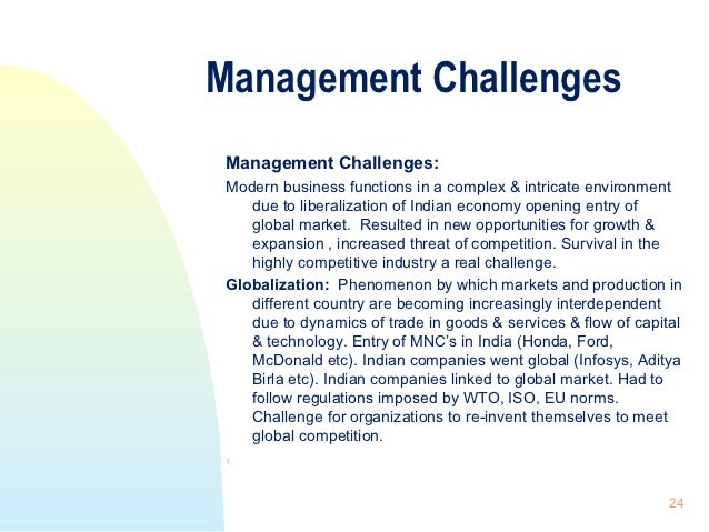 Nature Of Organization Amp Management
