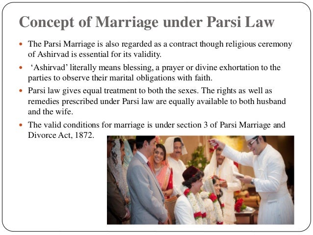 parsi marriage and divorce act 1936
