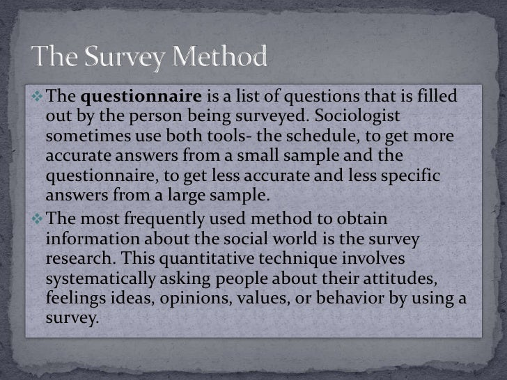 sociology survey ideas Especially online and mobile surveys have a very low cost and a  in your  survey may have an interest in your product, idea or service others.
