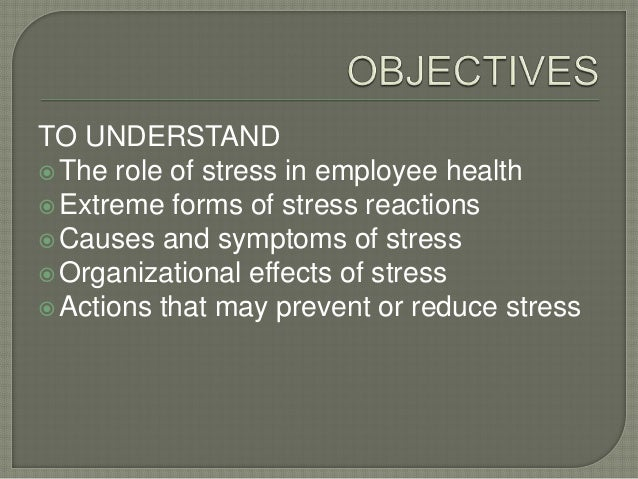 Industrial Psychology (Nature of Stress)