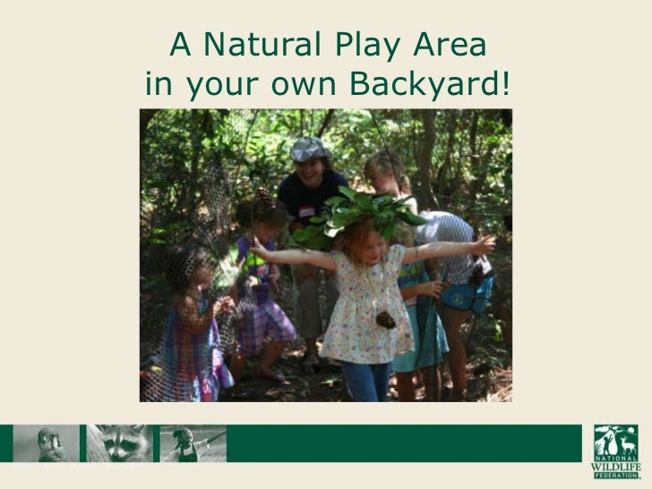 A Natural Play Area in your own Backyard!<br />
