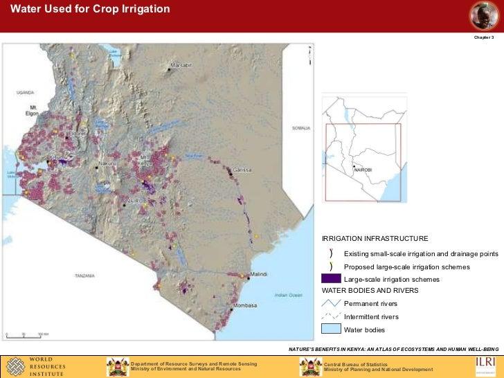 Large Map Of Kenya S Rivers World Map Showing Kenya Large Map Of - Kenya rivers map