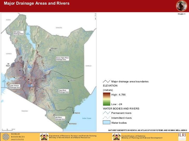 Naturesbenefits Kenya Water - Kenya rivers map