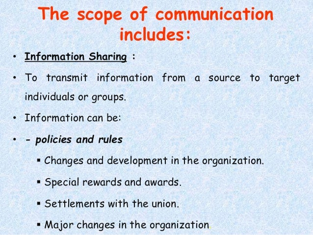 communication is the lifeblood of the Communication is significant for managers in an organizations so as to perform  the basic functions of management, ie, planning, organizing, leading and.