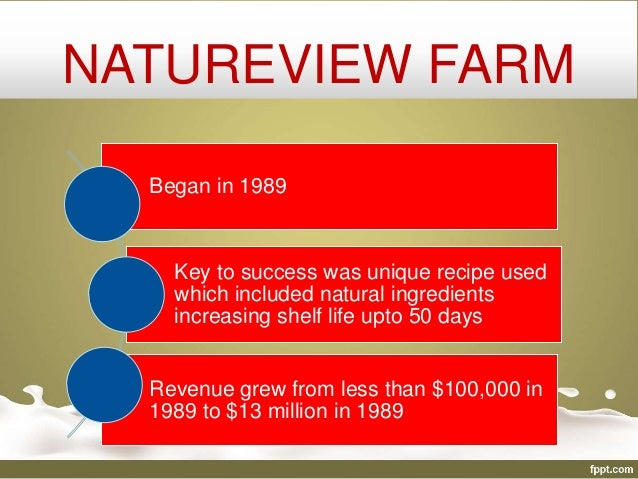 3 options presented in natureview farm Natureview farm case study karen they will also have the option to purchase an audio versionexplores channel natureview's vice president.