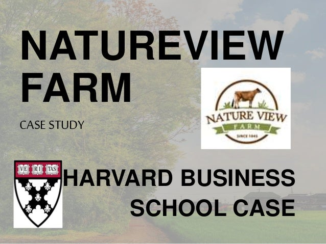 natureview case Essay about natureview farm case analysis natureview farm case analysis ruoyu wen marketing fundamentals prof joan crooker summer 2015 natureview is a company that.