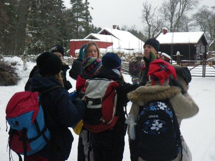 Åk 7 besöker Naturskolan