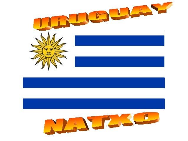 Limita al nord-est amb Brasil, aloest amb Argentina , i té costes enloceà Atlàntic al sud-est i sobre elRiu de la Plata ca...