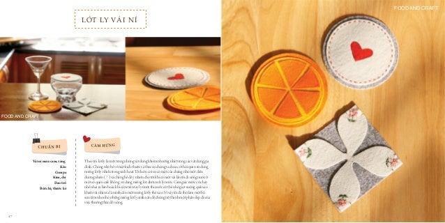 10 cm 8.5 cm 7 cm Voila! 1 2 3 4 1 2 3 4 Dùng compa vẽ 3 đường tròn lần lượt như sau: 2 đường tròn trên vải nỉ màu cam với...