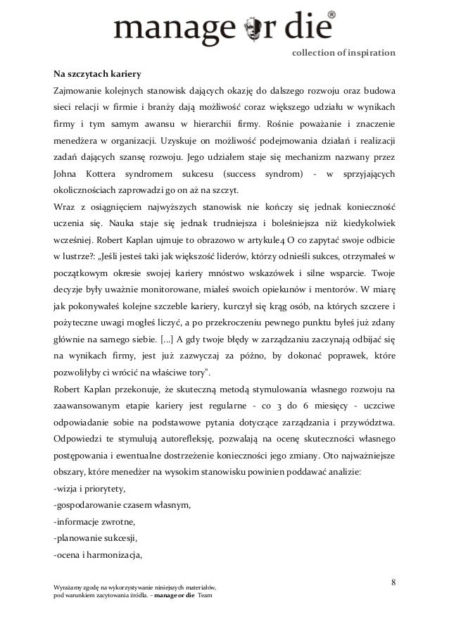 collection of inspiration Na szczytach kariery Zajmowanie kolejnych stanowisk dających okazję do dalszego rozwoju oraz bud...