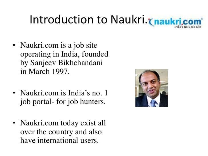 Naukri.com Slide 3
