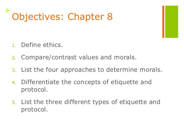 objective moral values definition Objective values have three parts: moral knowing, moral feeling and moral behaviour to possess the objective value of honesty, for example, i must first understand what honesty is and what honesty requires of me in my.