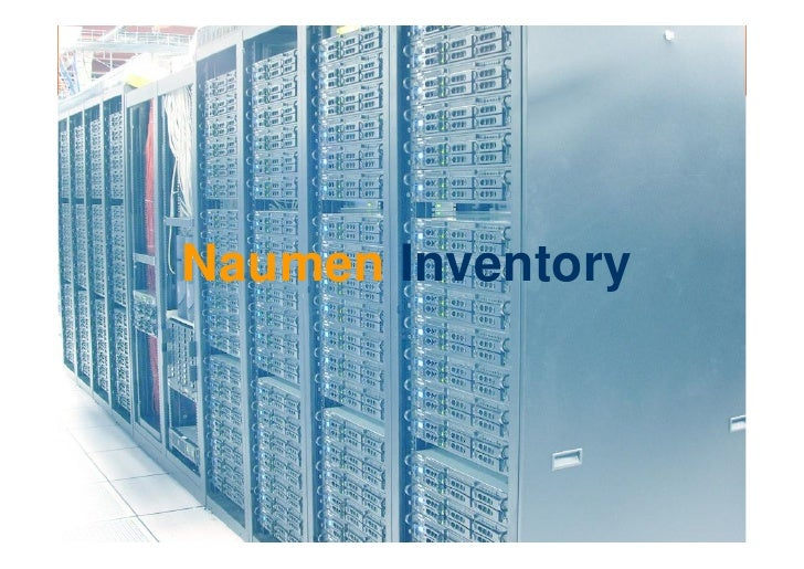 Naumen Inventory