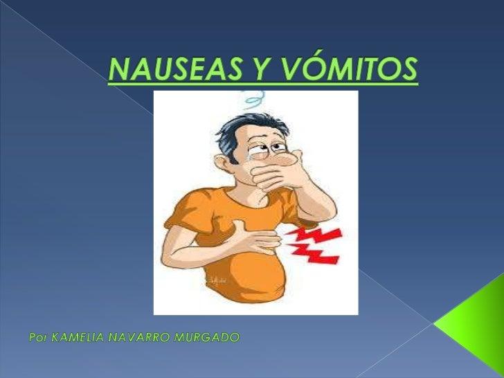 Nauseas y vómitos 2