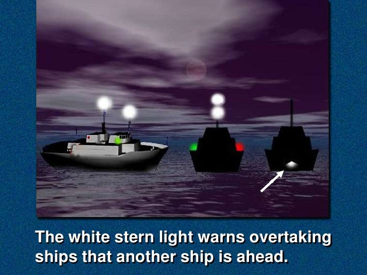 U2015Readingu2016 Navigation Lights (Vessels Underway) ...
