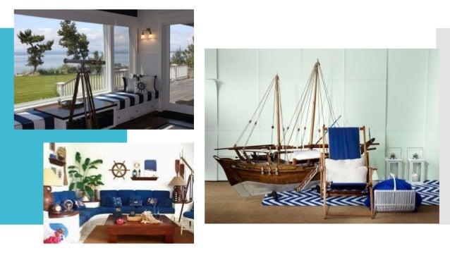 Nautical style interior design