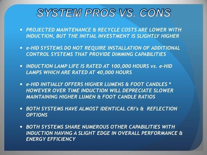 induction lighting pros and cons. \u003cbr /\u003e; 14. SYSTEM PROS VS. Induction Lighting Pros And Cons U