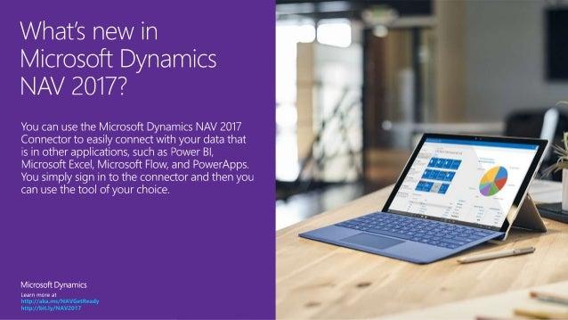 Microsoft Dynamics NAV 2017 - Connector Slide 2