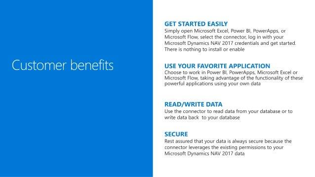 Microsoft Dynamics NAV 2017 - Connector Slide 3