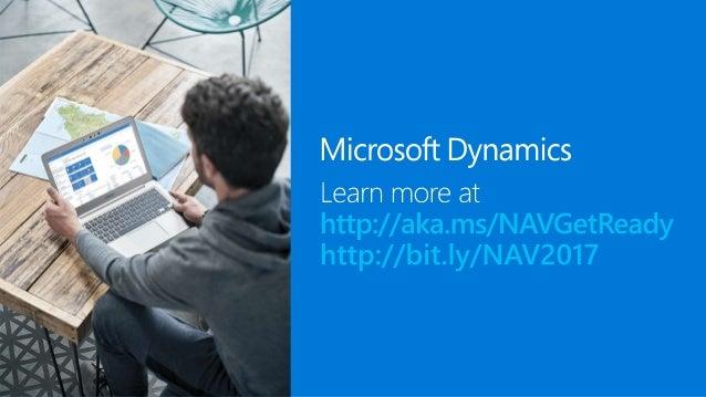 Microsoft Dynamics NAV 2017 - Connector