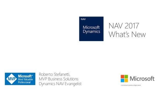 Roberto Stefanetti, MVP Business Solutions Dynamics NAV Evangelist