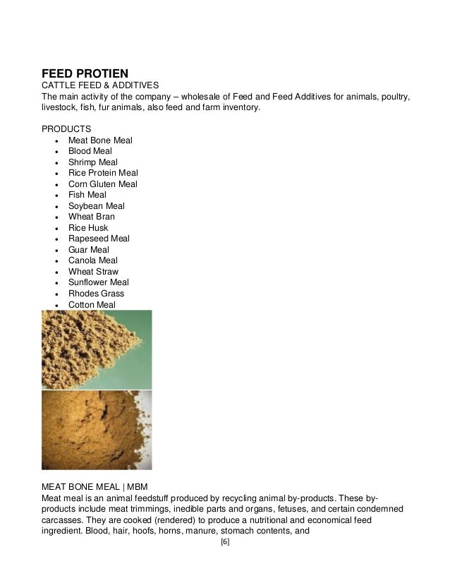 Animal Feed Ingredients/Raw Materials from Navadhane-Global Agro com…