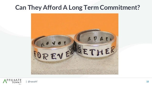 | @navahf 18 Can They Afford A Long Term Commitment?