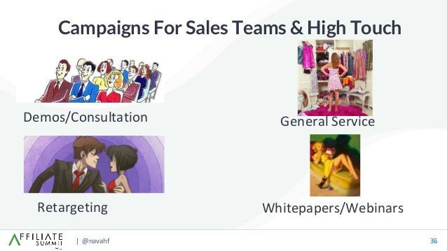 | @navahf 36 Campaigns For Sales Teams & High Touch Retargeting Demos/Consultation Whitepapers/Webinars General Service