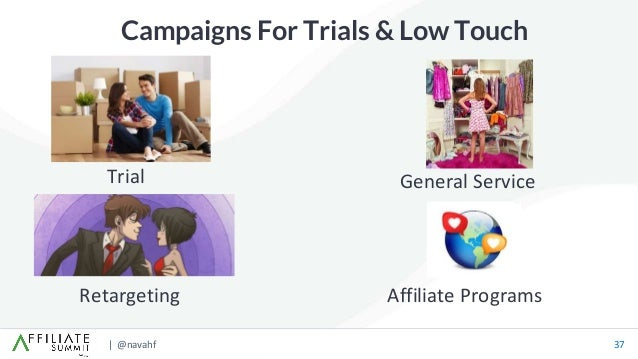 | @navahf 37 Campaigns For Trials & Low Touch Retargeting Trial Affiliate Programs General Service