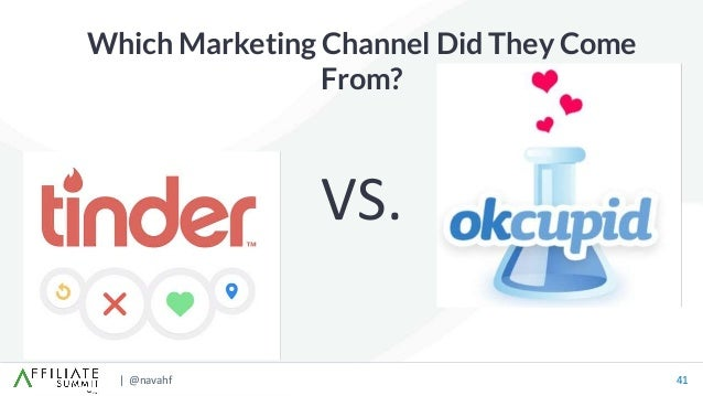 | @navahf 41 Which Marketing Channel Did They Come From? VS.