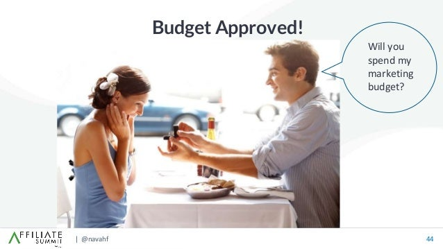 | @navahf 44 Budget Approved! Will you spend my marketing budget?