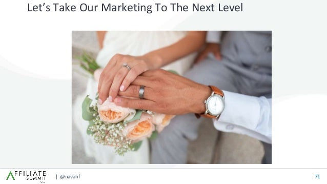 | @navahf 71 Let's Take Our Marketing To The Next Level