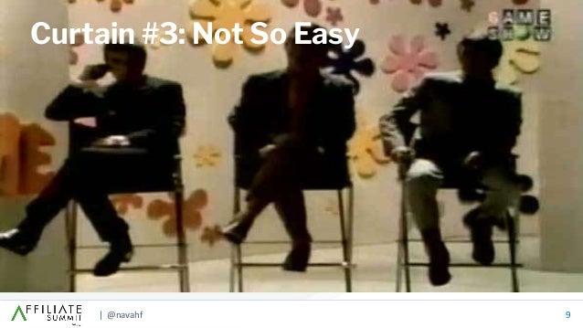 | @navahf 9 Curtain #3: Not So Easy