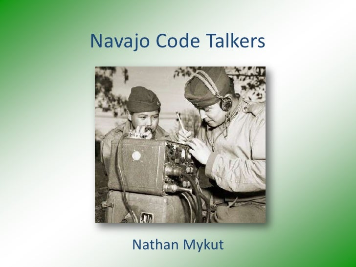 navajo code talkers chapter summary