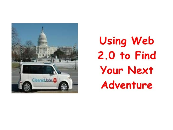 Using Web 2.0 to Find Your Next Adventure