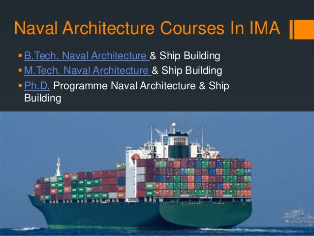 Want To Pursue A Career In Naval Architecture