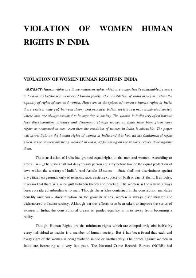 Human rights abuses in Jammu and Kashmir