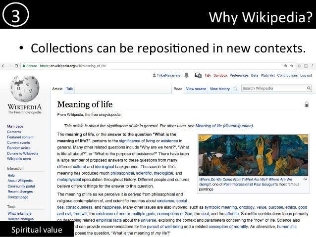 sharing and caring wikipedia