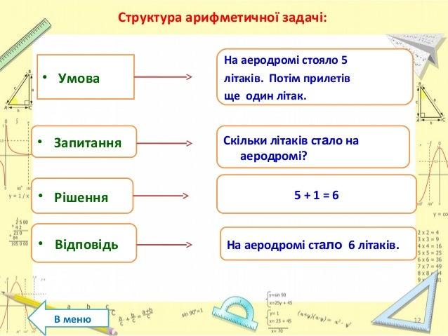 Навчання старших дошкільників рішенню арифметичних задач