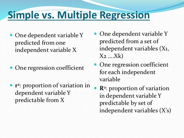 regression analysis essay