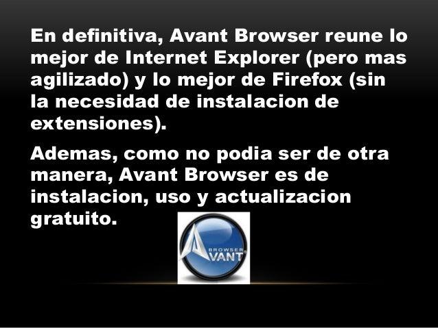 Загрузить - Avant Browser--Основанный на двух …