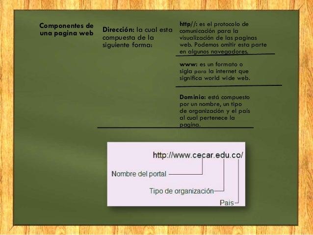 Navegadores, pagina web y buscadores