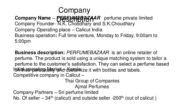 perfume business plan Back to business plans and cashflow writing your business plan example of a business plan example of a cashflow a finance provider will review any business plan submitted it is essential that your plan relates to your business and you do not rely on a generic document a finance provider will.