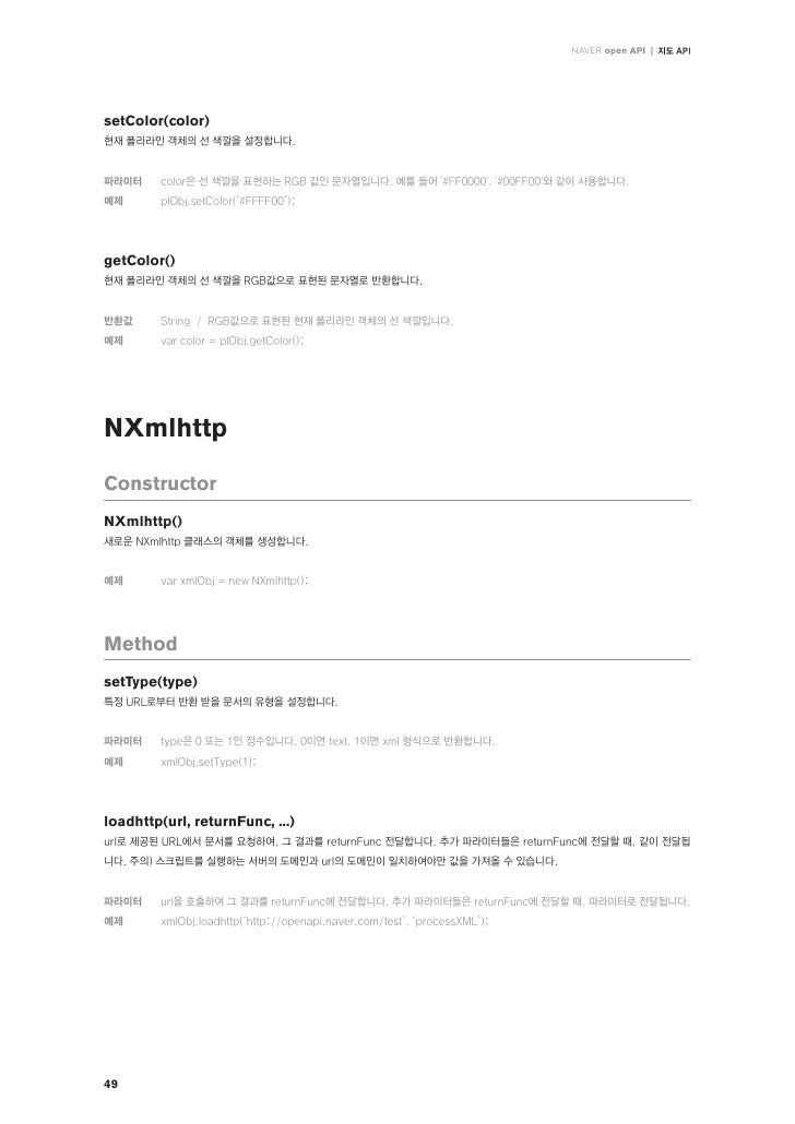 Naver Open Api Reference Manual Slide 50